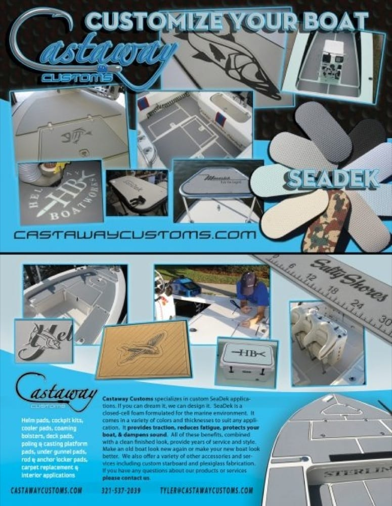 Castaway Customs flyer