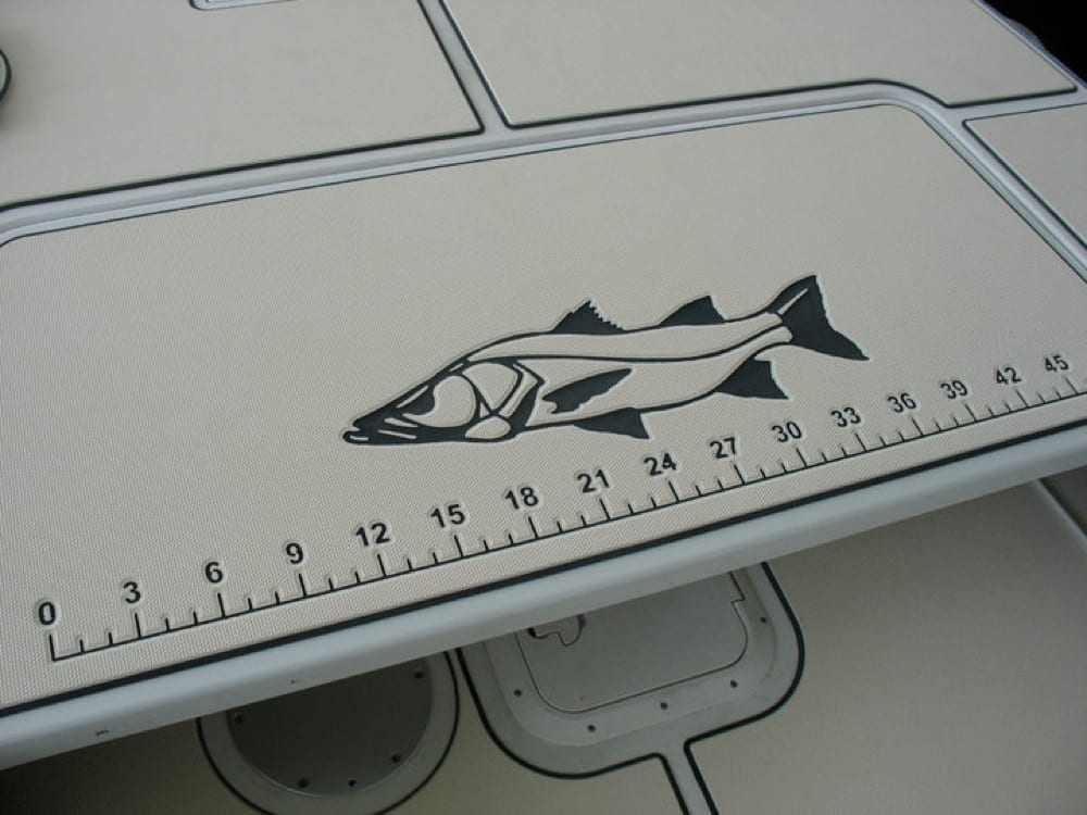 Snook logo with tape measure