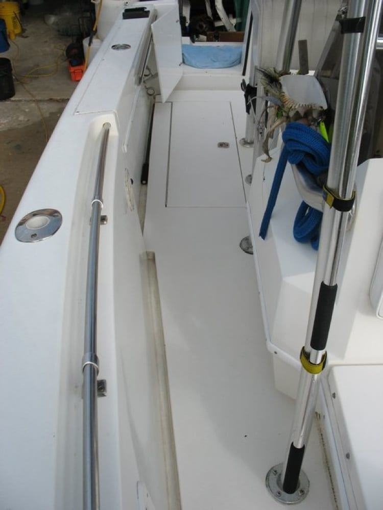 Starboard board side prior to install