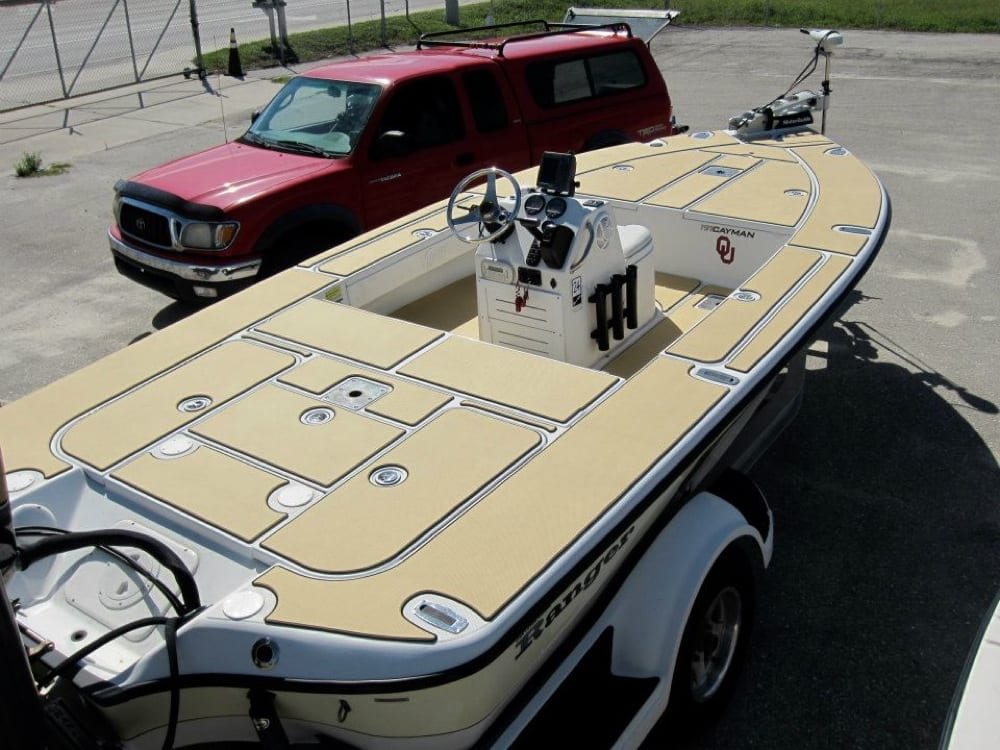 Ranger Cayman 191 Decked With Custom Seadek Castaway Customs