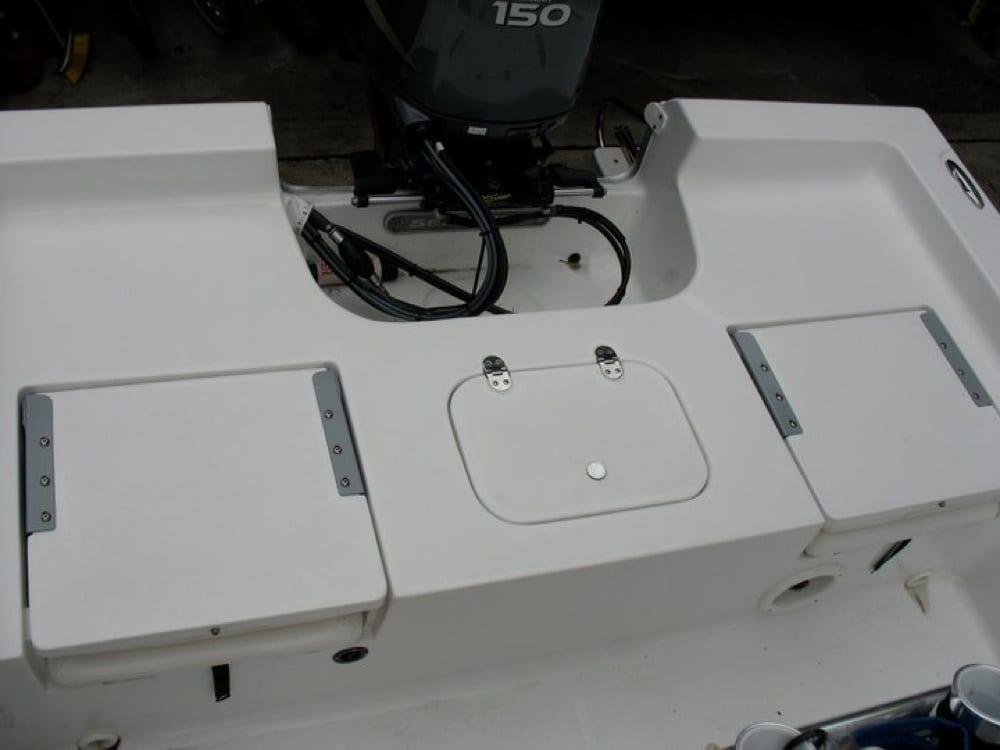 The slippery rear deck