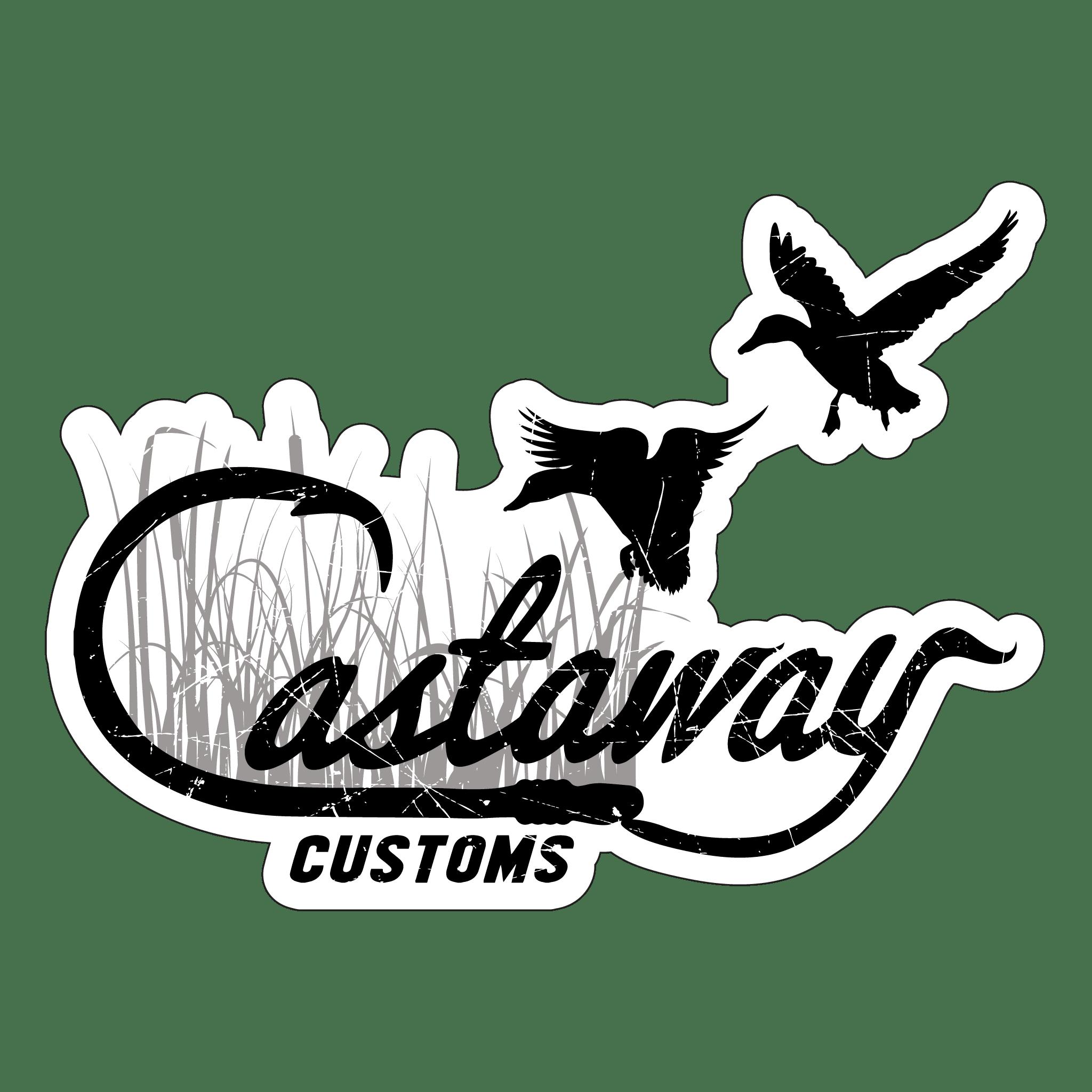 Cast Box Logo: Duck Logo Decal