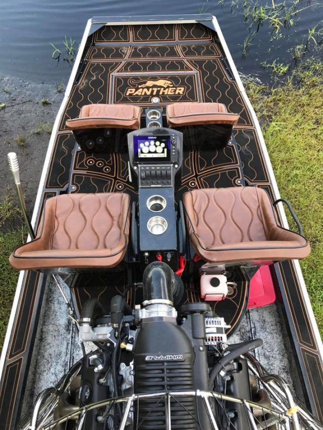 Castaway Customs Panther Airboats Custom SeaDek Airboating Airboat Decking