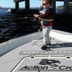 Castaway Customs Action Craft Bay Boat Custom SeaDek Kid Fishing