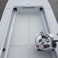 Castaway Customs Bossman Karma Custom SeaDek Flats Boat Marine Flooring