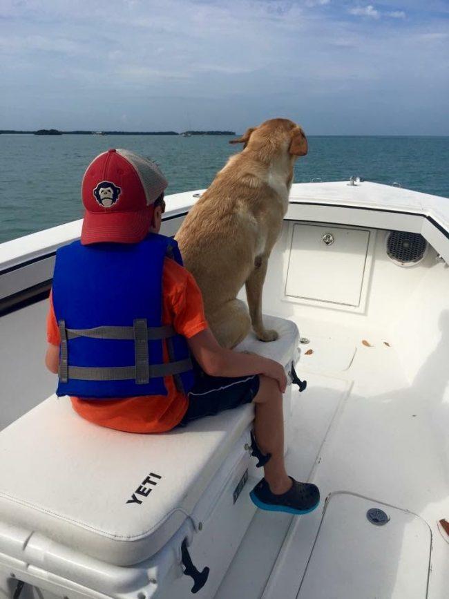 Castaway Customs Whitewater Boats Custom SeaDek Coaming Bolsters Kid Puppy