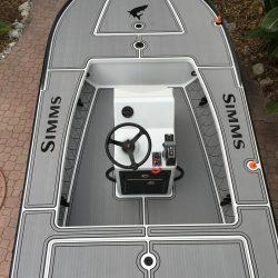 Castaway Customs East Cape Skiff Custom SeaDek Flats Boat Marine Flooring