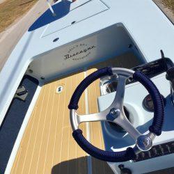 Castaway Customs Hells Bay Boatworks Skiff Custom SeaDek Flats Boat Marine Flooring