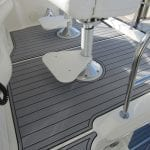 Castaway Customs Sea Ray Yachts Custom SeaDek Faux Teak Marine Flooring