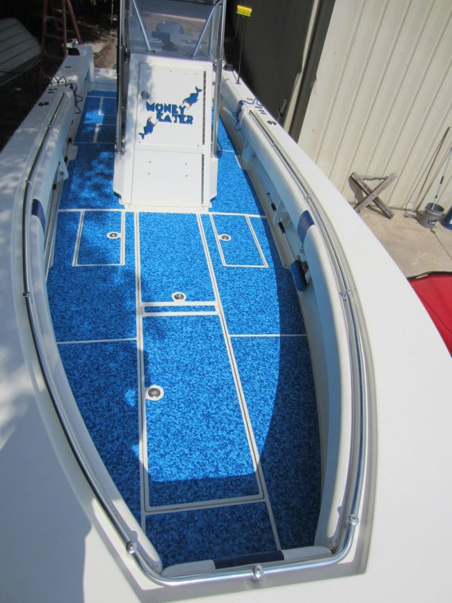 Castaway Customs Contender Boats Custom SeaDek Offshore Fishing Marine Flooring