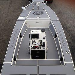 Castaway Customs Maverick Skiff Custom SeaDek Flats Boat Marine Flooring