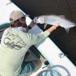 Paul Puckett Bonefish Logo Perfomance Long Sleeve Castaway Customs Apparel
