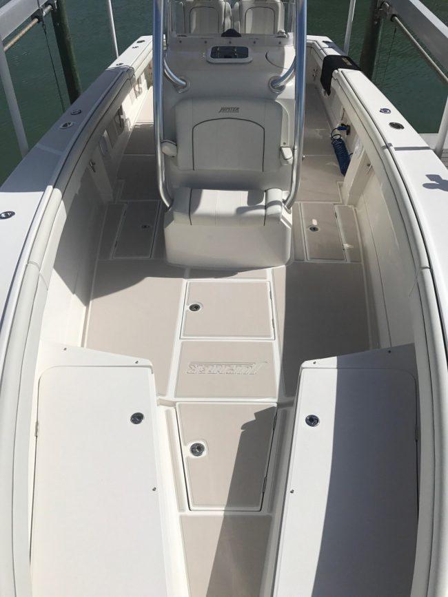 Castaway Customs Jupiter Marine Boats Custom SeaDek Marine Flooring