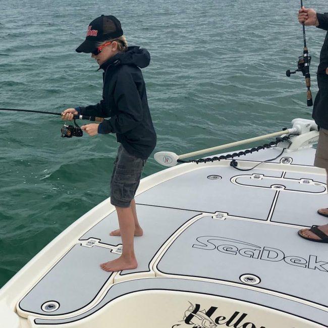 Castaway Customs Yellowfin Bay Boat Custom SeaDek Flats Fishing