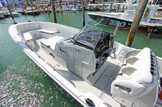 Castaway Customs Nortech Performance Boats Custom SeaDek Offshore Powerboat Marine Flooring