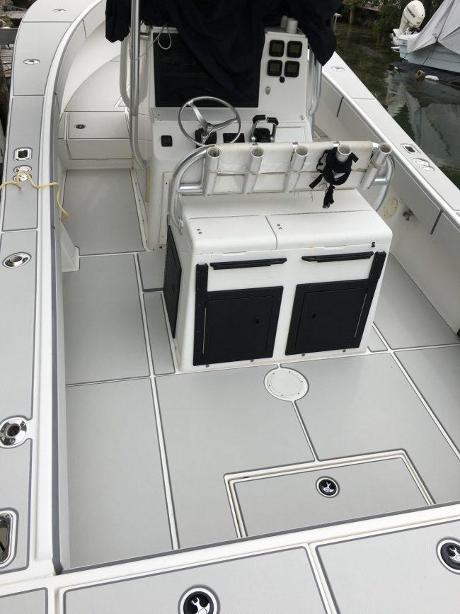 Castaway Customs Regulator Marine Boats Custom SeaDek Offshore Fishing Marine Flooring