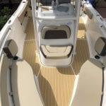 Castaway Customs Tidewater Center Console Boat Custom SeaDek Faux Teak Marine Flooring