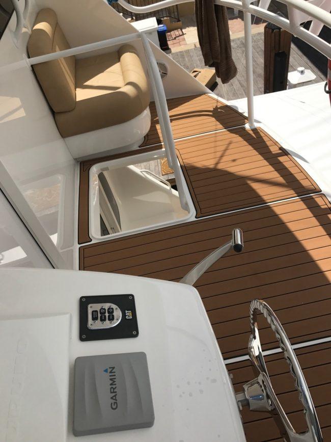 Castaway Customs Viking Yatchs Custom SeaDek Marine Flooring
