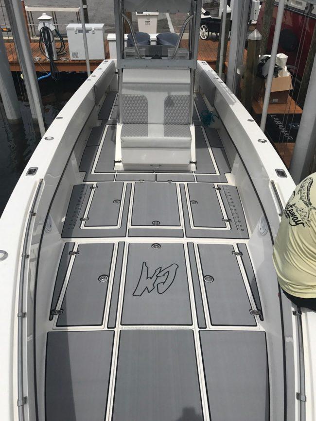 Castaway Customs Whitewater Boats Custom SeaDek Marine Flooring